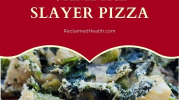Vampire Slayer Pizza - AIP & Paleo Friendly
